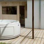sauna e jacuzzi