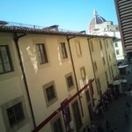 View from the front room, overlooking Galleria dell'Accademia