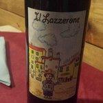The house wine - Lazzarone, i.e. rascal