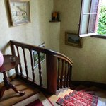 Staircase outside room