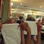 Fun in the hotel restaurant