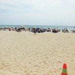 Crystal beach on a nice sunny day
