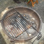 fire ring and cooking grate