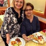 Mamma Teresa and my mom