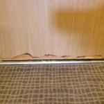 Our room door