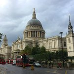 St Paul's just after a rain shower