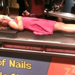 sleeping on a bed of nails