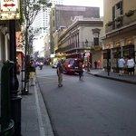 Royal street, outside Monteleone
