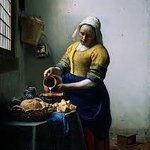 Melkmeisje by Vermeer (107531347)