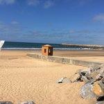 La plage ...