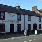The Freemasons Arms, Dinas Cross, Newport. Family friendly pub