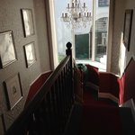 The staircase in the old building where our room was situated