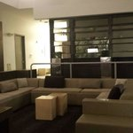 Lobby - very warm, cozy and homey.