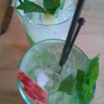 Mojito's (one apple, one pineapple)