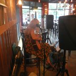 Paige Melton performing at Red Oak Bistro