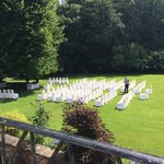 Outside wedding august 2014