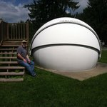 One of the star gazing pods available to rent for use