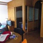 Camera molto spaziosa