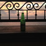 beer at the balcony