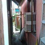 """Un ventilador empotrado que venden como """"aire acondicionado"""" El colmo."""