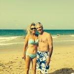 Honeymoon at Marriott ~ Lori & Larry : )