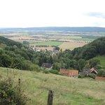 Blick in das Schaumburger/Weserberg-Land