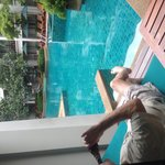 Pool Access room