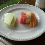 Room Service Fruit Plate