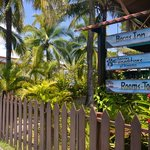 Entrance to Bocas Inn