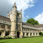 The Cloister at Magdalen