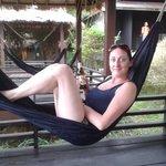 chillin in hammock