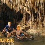 cave raft...lots of work...