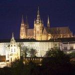 Prague Castel at night
