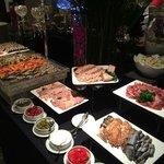 Buffet dîner Air France