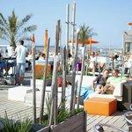 Vooges Strand - outdoor seating