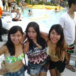 Bounce pool party with my gurls
