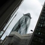 Photo of the Gherkin, London taken on the Hairy Goat Mystery tour