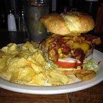 A beast of a burger