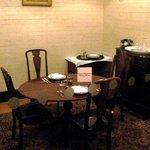 Churchill's dining area