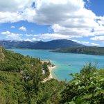 Lac de Ste Croix depuis Ste Croix du Verdon