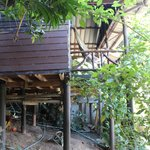 vue de l'extérieur, bungalow 11