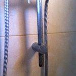La rouille dans la douche...
