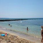 Melhor parte da praia