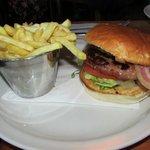The pork burger special