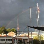 Rainbow over Camden