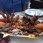 mixed grill, fantastic food