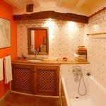 Salle de bain chambre Coquelicot