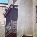 Walking down Moez Street in Old Town Cairo home of Le Riad