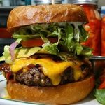 Pretty nice looking burger