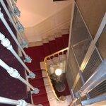 Лестница и шахта лифта